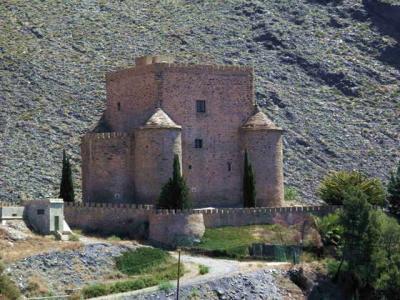 El castillo de Gérgal