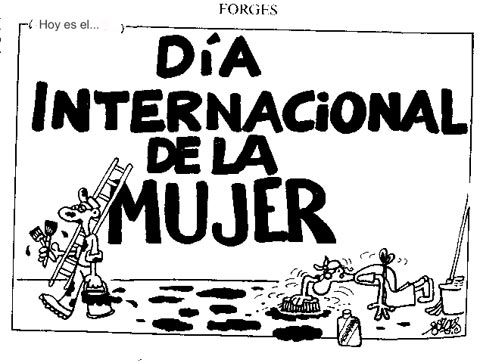 8 de Marzo: Dia de la Mujer.