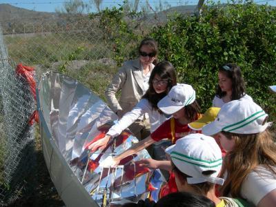 Visita a la Plataforma Solar de Tabernas.